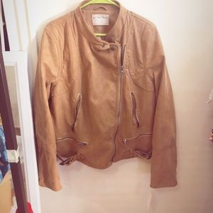 NWT Free People Faux Leather Jacket XL